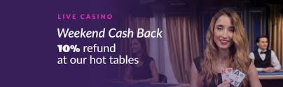 Live Casino Cash Back