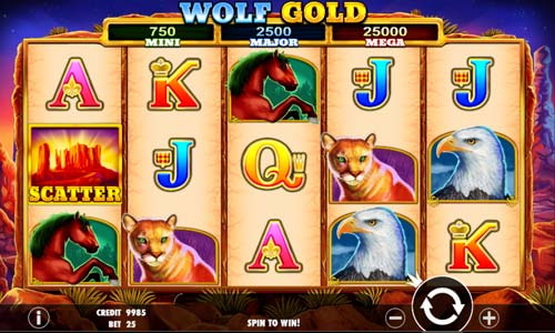wolf game slot game