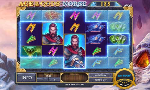 Age of the Gods Norse Ways of Thunder - Age of the Gods Norse Ways of Thunder Slot Review