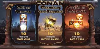 Conan Free Spins Slot Game - Conan Free Play Slot Review