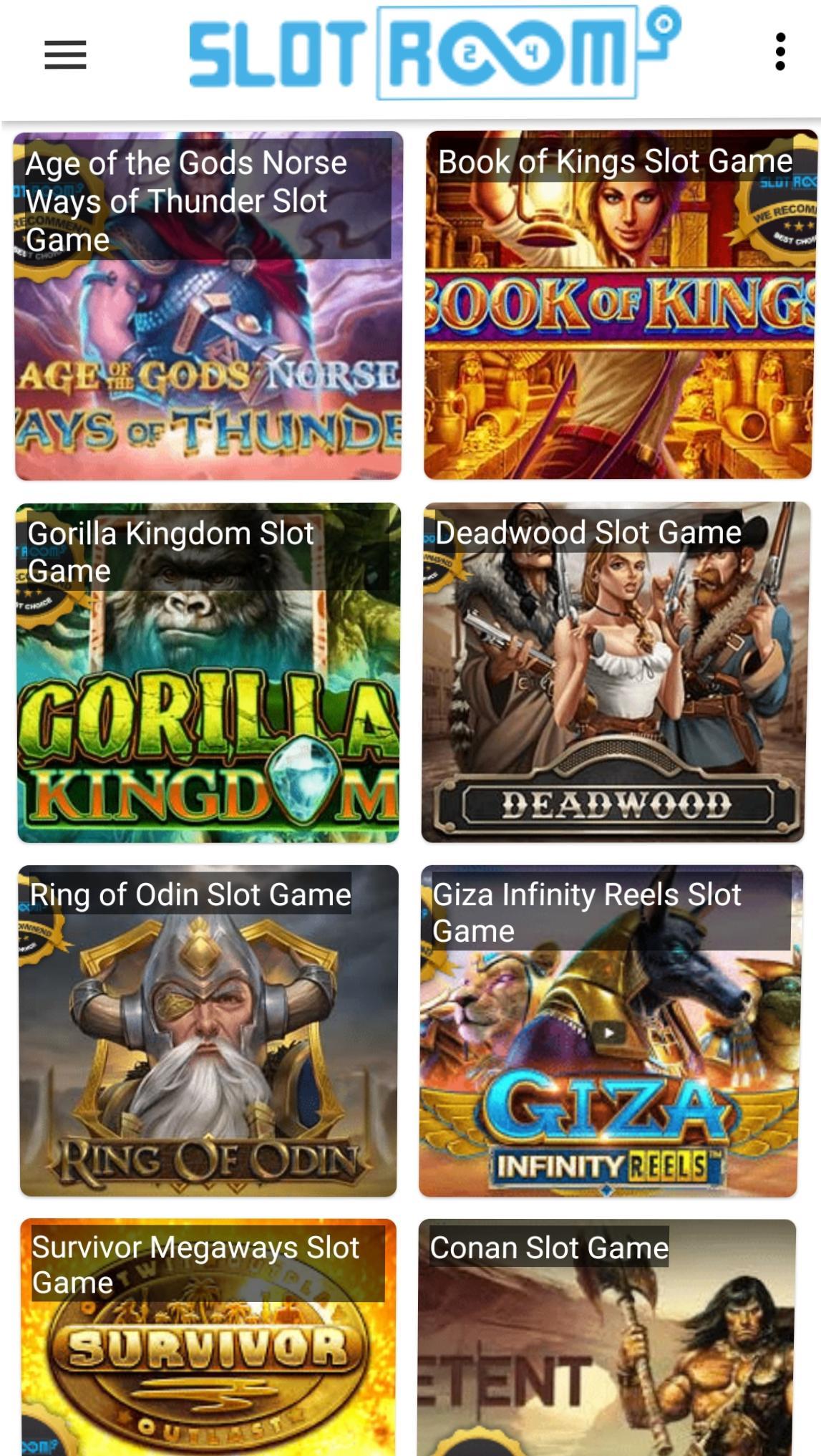 SlotRoom24.com App
