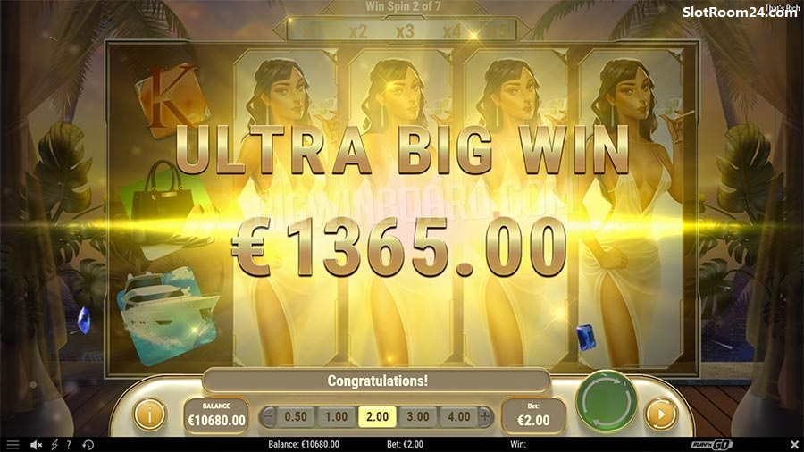 That's Rich is a 5 reel video slot game - That's Rich Free Play Slot Review