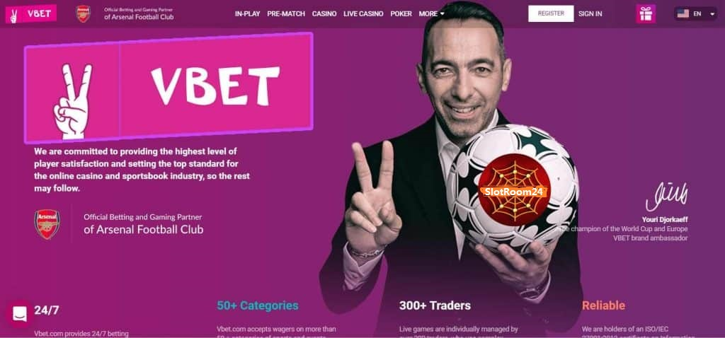 Vbet Login SlotRoom24