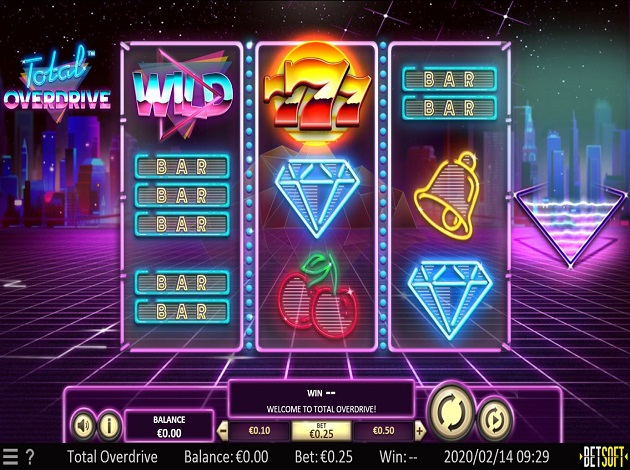 Total Overdrive Slot Review
