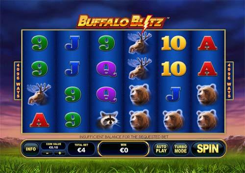 buffalo blitz slot screen - Buffalo Blitz Slot Review