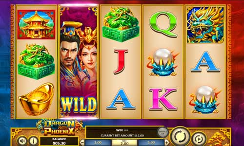 dragon and phoenix slot screen - Dragon and Phoenix Slot  Review