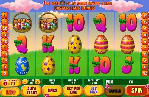 easter surprise screen - Easter Surprise Slot Review