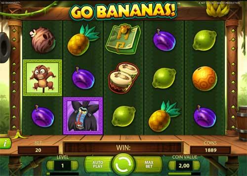 go bananas slot screen - Go Bananas Slot Review