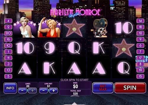 marilyn monroe slot screen - Marilyn Monroe Slot Review
