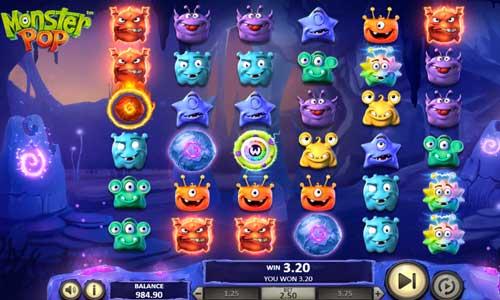 monster pop slot screen - Monster Pop Slot Review