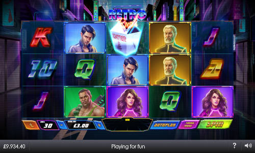 retro rush slot screen - Retro Rush Slot Review