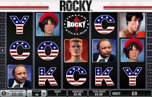 rocky screen - Rocky Slot Review