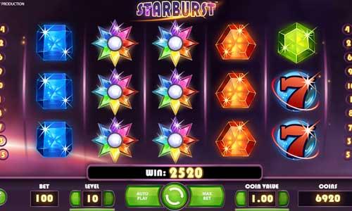 starburst slot screen - Starburst Slot Review