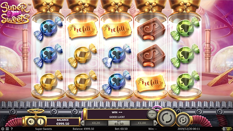 supersweets golden tickets - Super Sweets Slot Review