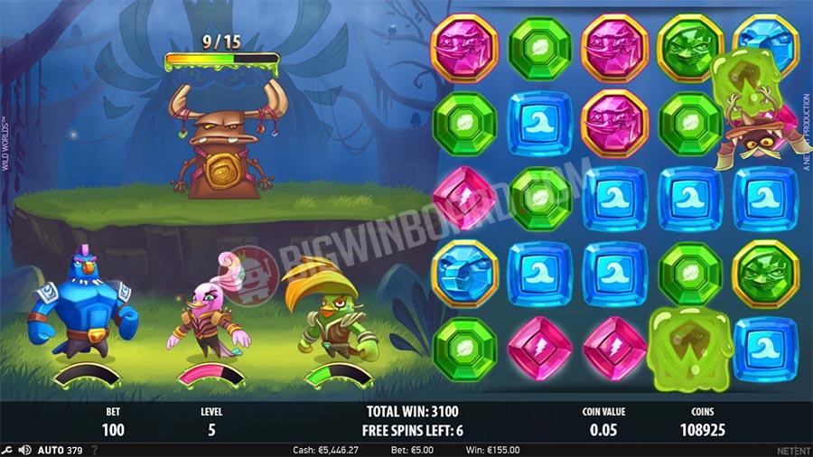 wild worlds netent fs - Wild Worlds Slot Review