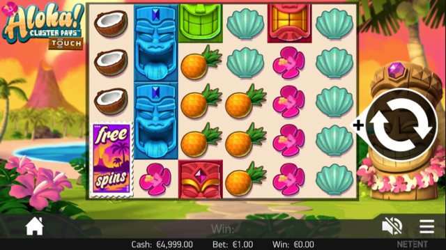 Aloha Cluster Pays Mobile Slot - Aloha Cluster Pays Slot Review