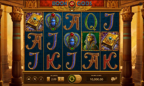 book of gods slot bf games screen 1 - Book of Gods Slot Game Free
