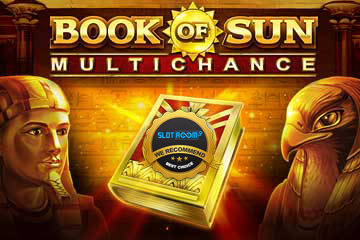 book of sun multichance slot logo 1 - Book of Sun Multichance Slot Review