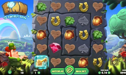 finn and the swirly spin slot screen - Finn and the Swirly Spin Slot Review
