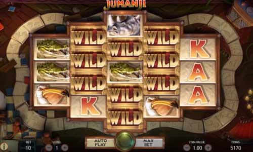 jumanji slot screen - Jumanji Slot Game Free Play