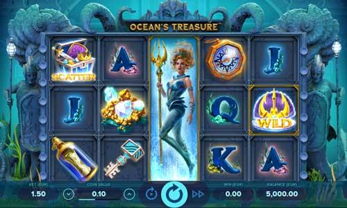 oceans treasure slot screen - Ocean's Treasure Slot Review