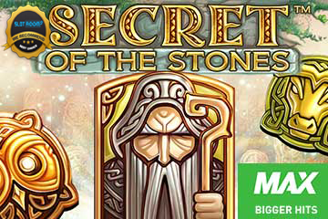secret of the stones max slot logo - Secret of the Stones MAX Slot Review