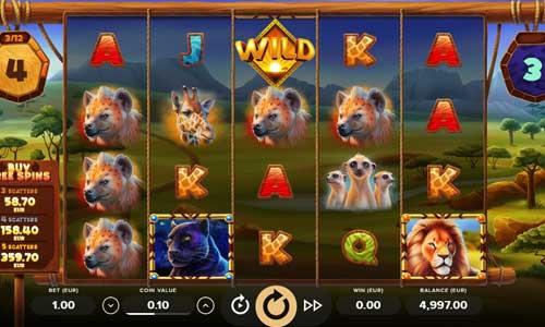 serengeti kings slot screen - Serengeti Kings Slot Review