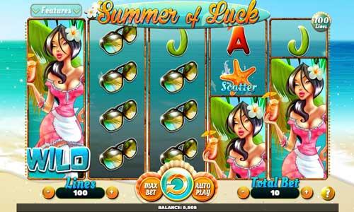 summer of luck slot screen - Summer of Luck Slot Review