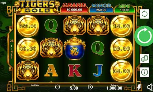 tigers gold slot screen - Tigers Gold Slot Review