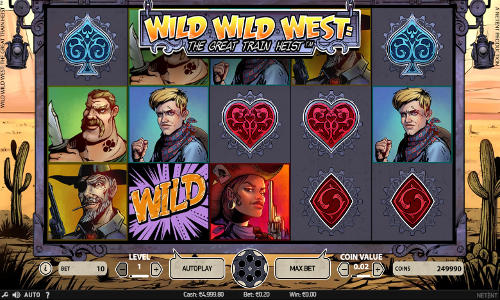 Wild Wild West The Great Train Heist Slot Review