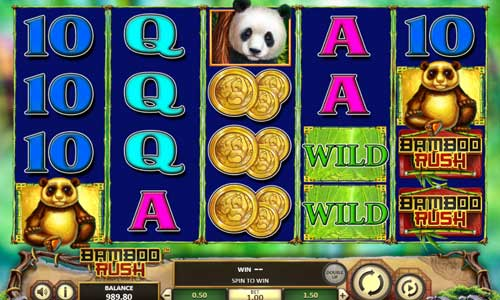 bamboo rush slot screen - Bamboo Rush Slot Review