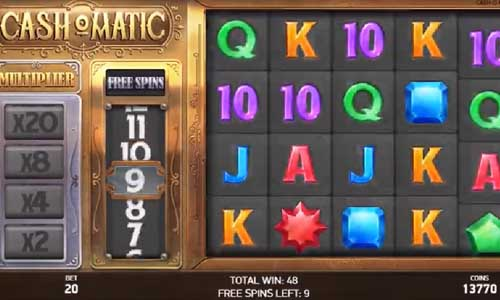cashomatic slot screen - Cashomatic Slot Review