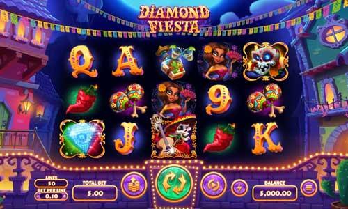 diamond fiesta slot screen - Diamond Fiesta Slot Review