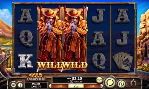 Gold Canyon Slot Review