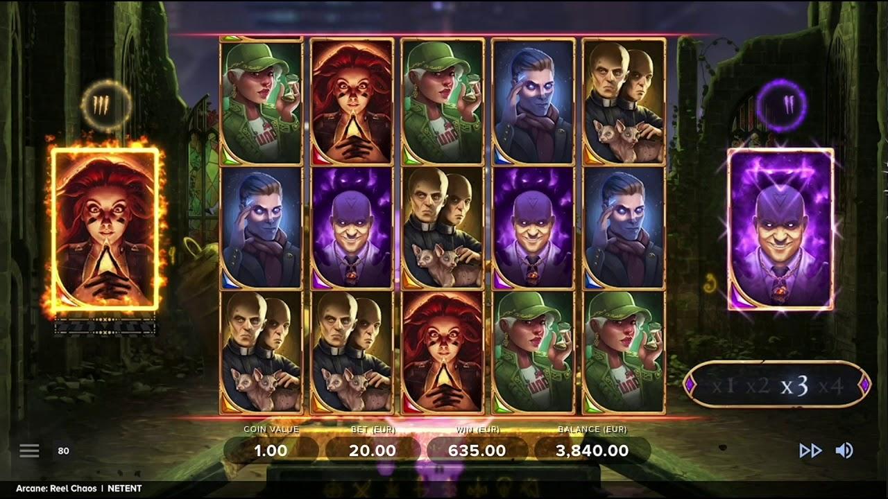 maxresdefault 1024x576 - Arcane: Reel Chaos Slot Review