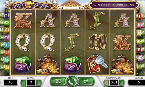 piggy riches slot screen - Piggy Riches Slot Review