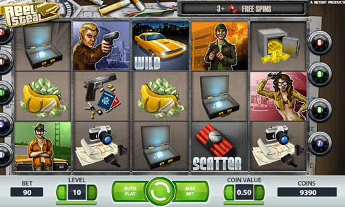 reel steal slot screen - Reel Steal Slot Review