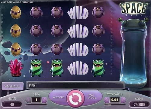 space wars slot screen - Space Wars Slot Review