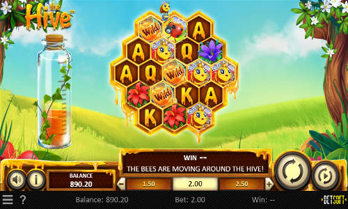 the hive slot screen - The Hive Slot Review