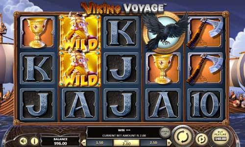viking voyage slot screen