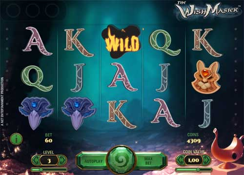 wish master slot screen - The Wish Master Slot Review