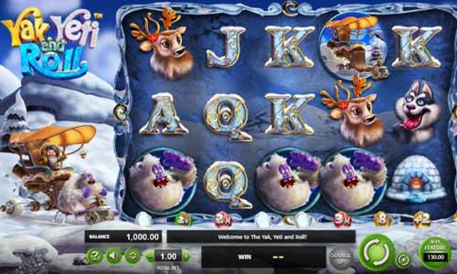 yak yeti and roll slot screen - Yak Yeti and Roll Slot Review