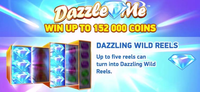 dazzle me slot net entertainment