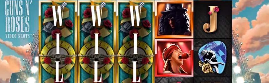 guns n roses online slot netent - Guns N Roses Slot Review