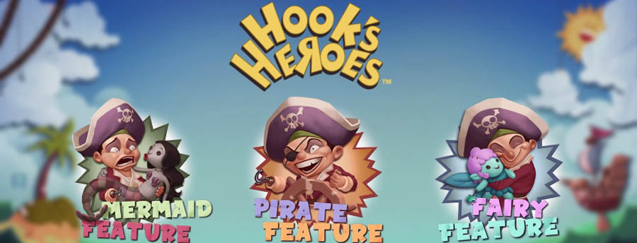 hooks heroes online slot netent - Hooks Heroes Slot Review