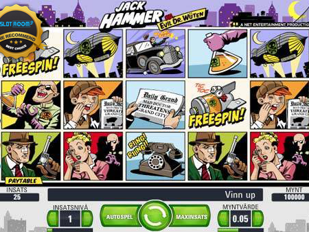 Jack Hammer Slot Review