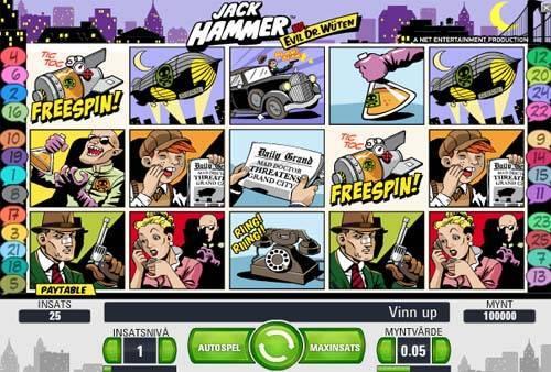 jack hammer screen - Jack Hammer Slot Review