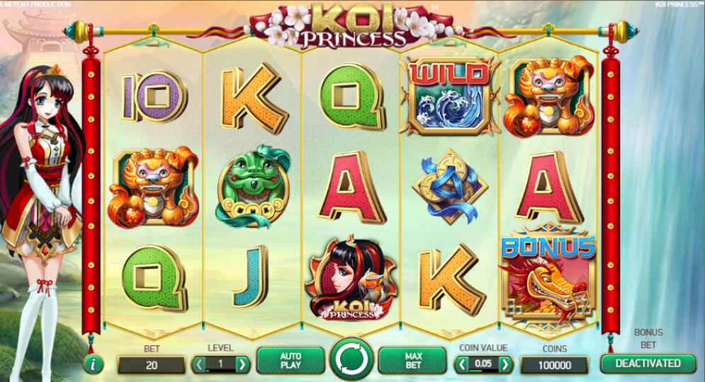 koi princes - Koi Princess Slot Game
