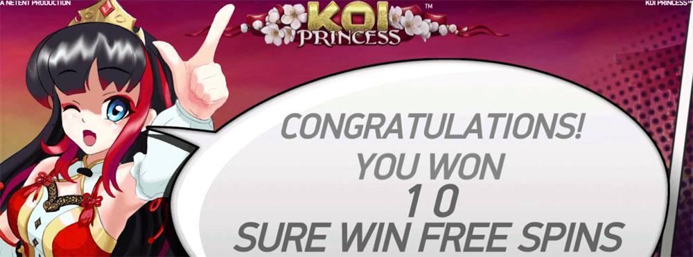 koi princess online slot netent - Koi Princess Slot Review