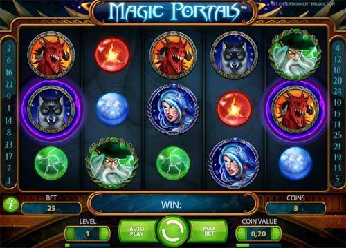 magic portals slot screen - Magic Portals Slot Review